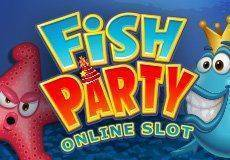 Fish Party Slots  (Microgaming) USE PROMO CODE 'LUCKYPUG' FOR 50 FREE SPINS