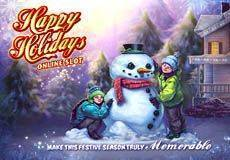 Happy Holidays Slots  (Microgaming) PLAY IN DEMO MODE OR FOR REAL MONEY