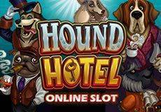 Hound Hotel Slots  (Microgaming) 500% WELCOME BONUS UP TO €/$100