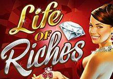 Life of Riches Slots  (Microgaming) PLAY IN DEMO MODE OR FOR REAL MONEY