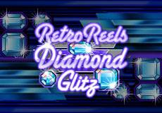 Retro Reels Diamond Glitz Slots  (Microgaming) GET €/$ 100 CASINO BONUS