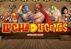 Lucha Legends Slots  (Micro Gaming)