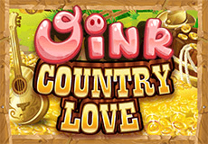 Oink Country Love Slots  (Microgaming) PLAY IN DEMO MODE OR FOR REAL MONEY