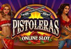 Pistoleras Slots Mobile (Microgaming) PLAY IN DEMO MODE OR FOR REAL MONEY