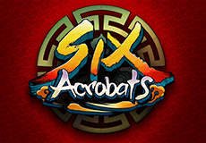 Six Acrobats Slots  (Microgaming) GET 50 FREE SPINS NO DEPOSIT