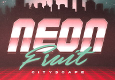 Neon Fruit Cityscape Slots  (1x2gaming)