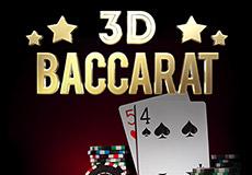 3D Baccarat Stół Mobile (1x2gaming)