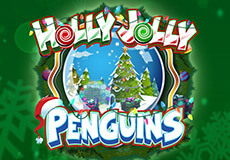 Holly Jolly Penguins Slots  (Microgaming) GET €/$ 100 CASINO BONUS