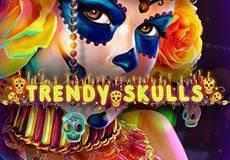 Trendy Skulls Slots  (MrSlotty)