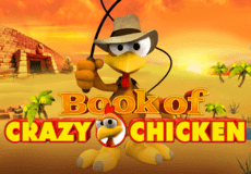 Book of Crazy Chicken2 Slots Mobile (Gamomat)