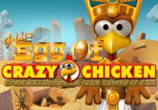 Golden Egg of Crazy Chicken sloturi Mobil (Gamomat)