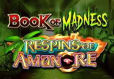 Book of Madness Respins of Amun-Re Slots  (Gamomat)