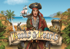 Books and Pearls Slots Mobile (Gamomat)