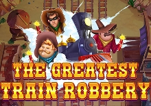 The Greatest Train Robbery Slots  (Red Tiger)