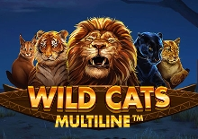 Wild Cats Multiline Slots  (Red Tiger)