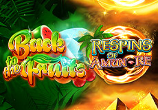 Back to the Fruits Respins of Amun Re Slots Mobile (Gamomat)