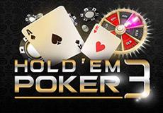 Hold'em Poker 3 Table Mobile (Microgaming)