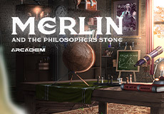 Merlin and The Philosopher`s Stone Slots  (Arcadem)