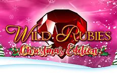Wild Rubies Christmas Edition Slots Mobile (Gamomat)
